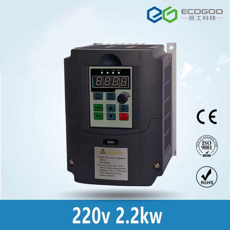 220v 2.2kw AC Frequency Inverterr Output 3 Phase