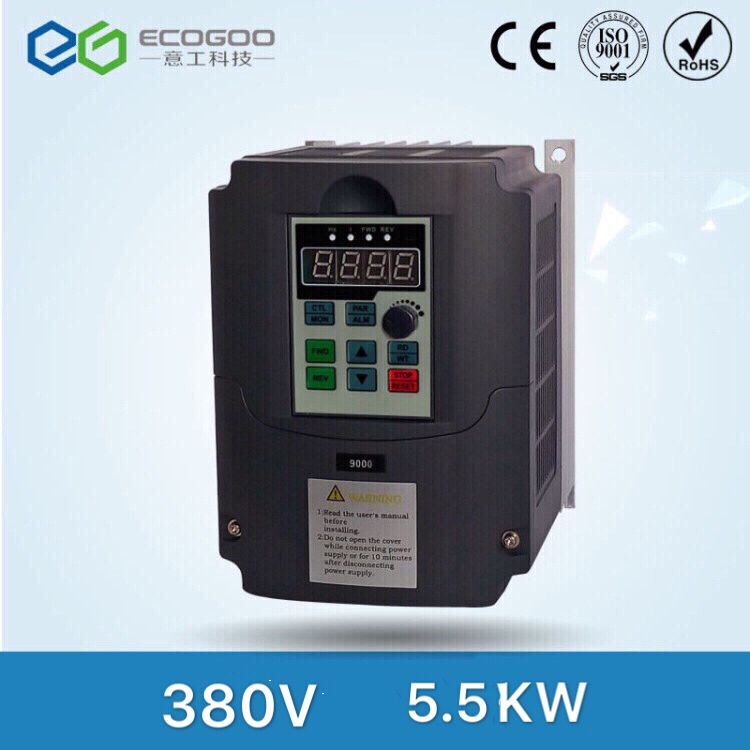 380V 5.5kw Low Power DC AC Frequency Inverter